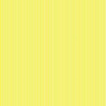 Makower Fabric - Pinstripe - Lemon Yellow Y - 100% Cotton - 1/4m+