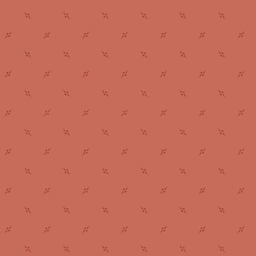 Andover Fabric - Bijoux by Kathy Hall - Pennant Grapefruit - 100% Cotton -