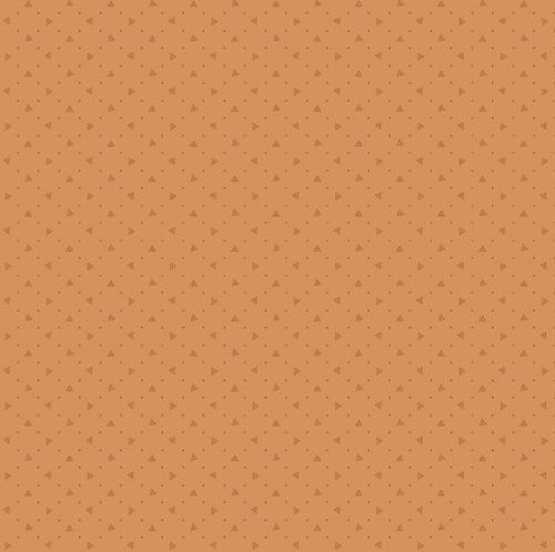 Andover Fabric - Bijoux by Kathy Hall - Pyramid Sweet Potato - 100% Cotton