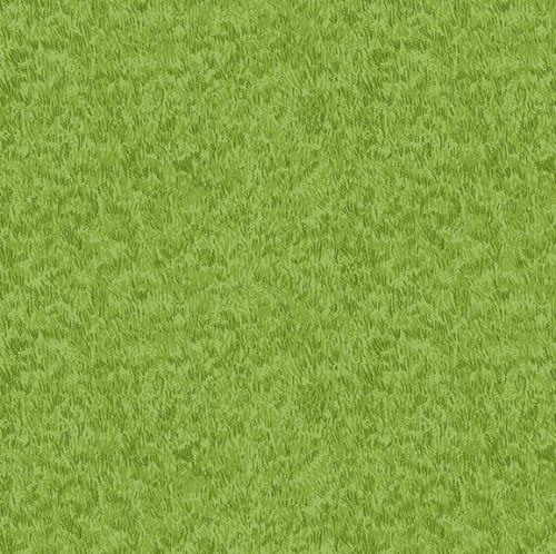 Makower Fabric - Village Life - Grass - Green - 100% Cotton - 1/4m+