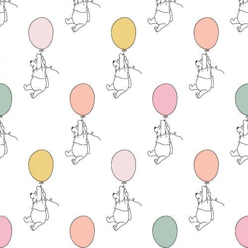 Disney Fabric - Winnie the Pooh - Balloons - 100% Cotton - 1/4m+
