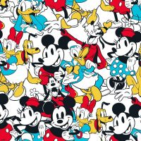Disney Fabric - Mickey and Friends - Sensational 6 Snapshot - 100% Cotton - 1/4m+