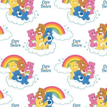 Care Bears Fabric - Care Bears Rainbow - 100% Cotton - 1/4m+
