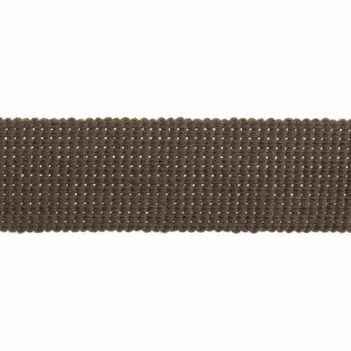 Webbing - Cotton Acrylic - Khaki Green - 30mm Wide - Metre