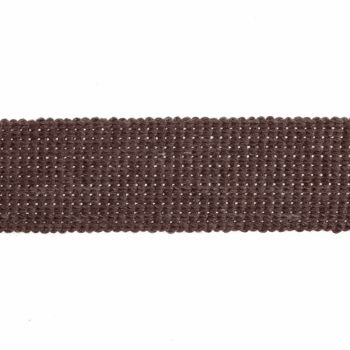Webbing - Cotton Acrylic - Taupe - 30mm Wide - Metre