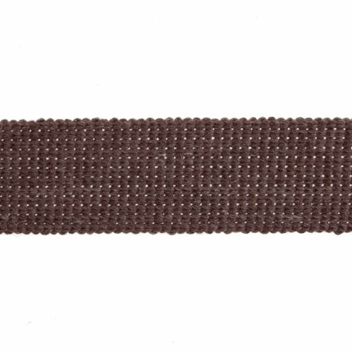 Webbing - Cotton Acrylic - Taupe- 30mm Wide - Metre