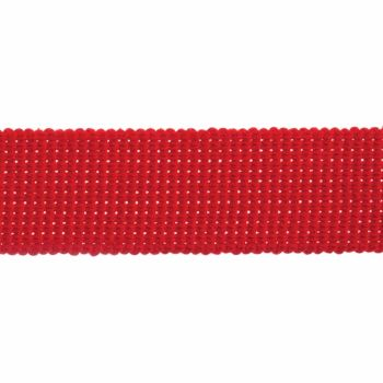 Webbing - Cotton Acrylic - Red - 30mm Wide - Metre