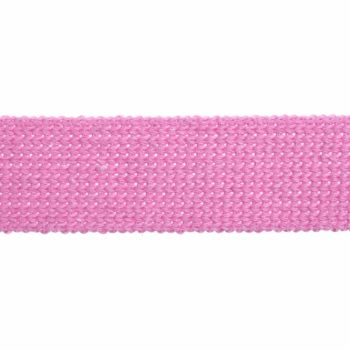 Webbing - Cotton Acrylic - Pastel Pink - 30mm Wide - Metre