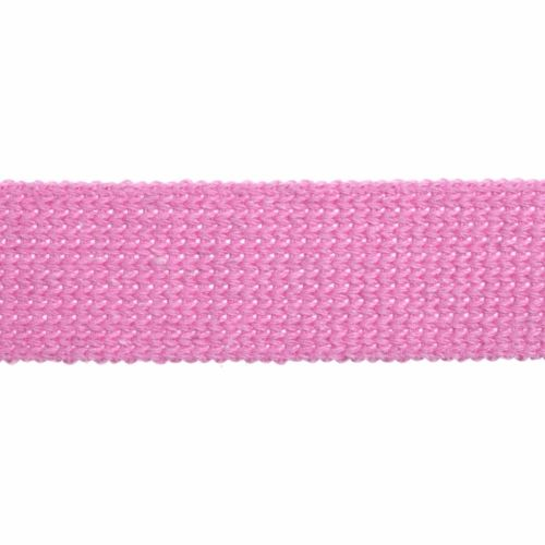Webbing - Cotton Acrylic - Pink - 30mm Wide - Metre