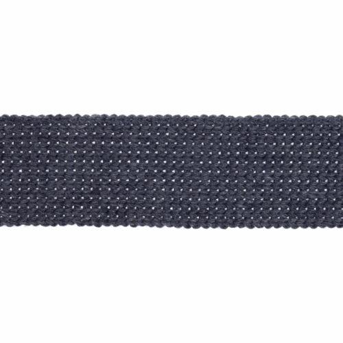 Webbing - Cotton Acrylic - Denim - 30mm Wide - Metre