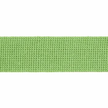 Webbing - Cotton Acrylic - Apple Green - 30mm Wide - Metre