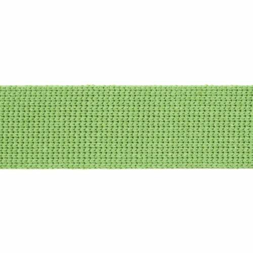 Webbing - Cotton Acrylic - Apple Green - 30mm Wide - Metre