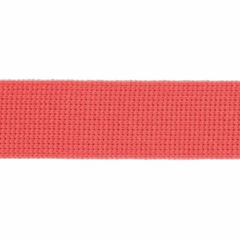 Webbing - Cotton Acrylic - Coral - 30mm Wide - Metre