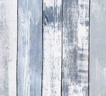 Timeless Treasures Fabric - Weathered Wood Planks - Blue - 100% Cotton - 1/4m+