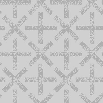 Andover Fabric - Alison Glass - Art Theory - X and + - Day - 100% Cotton - 1/4m+