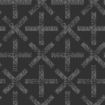 Andover Fabric - Alison Glass - Art Theory - X and + - Night - 100% Cotton - 1/4m+