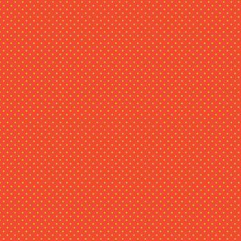 Makower Fabric - Spots - Orange Yellow NY - 100% Cotton - 1/4m+