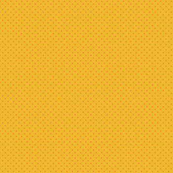 Makower Fabric - Spots - Yellow Orange YN - 100% Cotton - 1/4m+