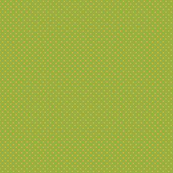 Makower Fabric - Spots - Green Yellow GY - 100% Cotton - 1/4m+