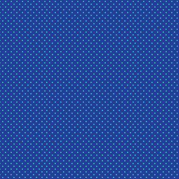 Makower Fabric - Spots - Blue Turquoise BT - 100% Cotton - 1/4m+
