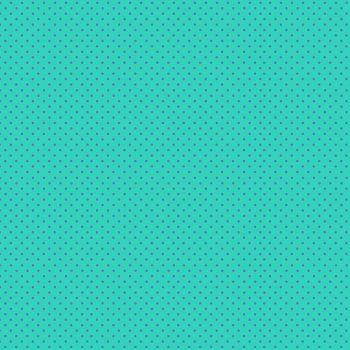 Makower Fabric - Spots - Turquoise Blue TB - 100% Cotton - 1/4m+