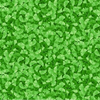 Timeless Treasures Fabric - Forest Magic - Leaves - Green - Digital - 100% Cotton - 1/4m+