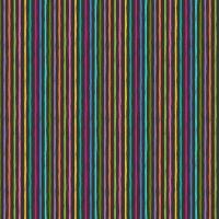 Makower Fabric - Katie's Cats - Chalky Stripe - Grey - 100% Cotton - 1/4m+
