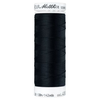 Mettler Thread - Seraflex Stretch - 130m Reel - Black 4000