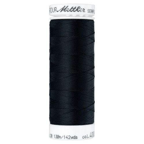 Mettler Thread - Seraflex Stretch - 130m Reel - Black 4000