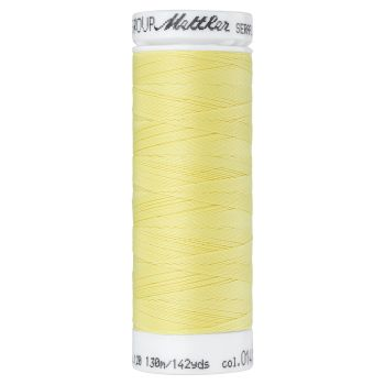 Mettler Thread - Seraflex Stretch - 130m Reel - Daffodil 0141