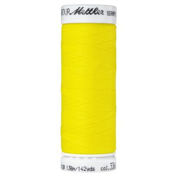 Mettler Thread - Seraflex Stretch - 130m Reel - Lemon 3361