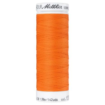 Mettler Thread - Seraflex Stretch - 130m Reel - Tangerine 1335