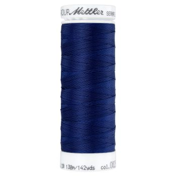 Mettler Thread - Seraflex Stretch - 130m Reel - Navy 0825
