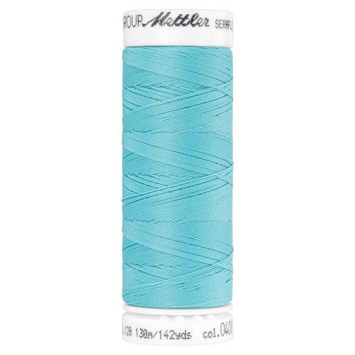 Mettler Thread - Seraflex Stretch - 130m Reel - Aqua 0408