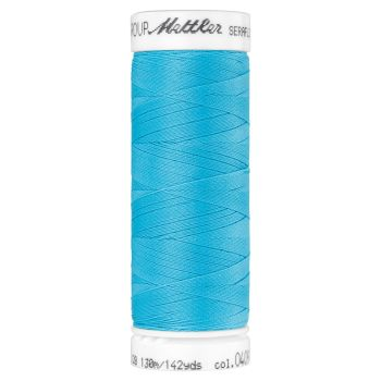 Mettler Thread - Seraflex Stretch - 130m Reel - Turquoise 0409