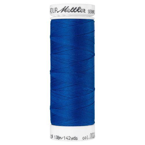 Mettler Thread - Seraflex Stretch - 130m Reel - Colonial Blue 0024