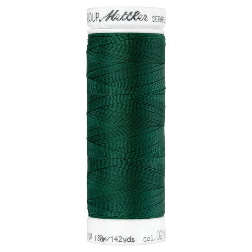 Mettler Thread - Seraflex Stretch - 130m Reel - Dark Green 0216