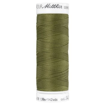Mettler Thread - Seraflex Stretch - 130m Reel - Olive Drab 0420