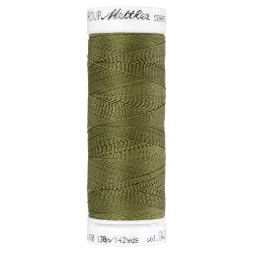 Mettler Thread - Seraflex Stretch - 130m Reel - Olive Drab 0420