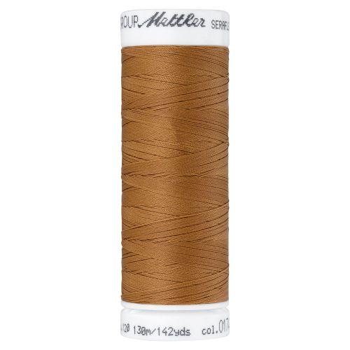 Mettler Thread - Seraflex Stretch - 130m Reel - Ashley Gold 0174