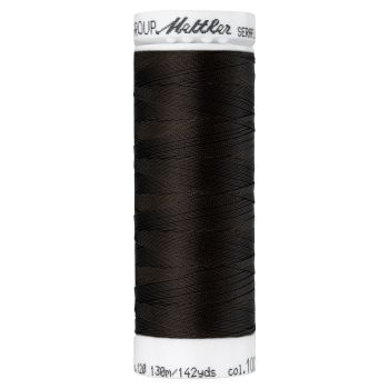 Mettler Thread - Seraflex Stretch - 130m Reel - Very Dark Brown 1002