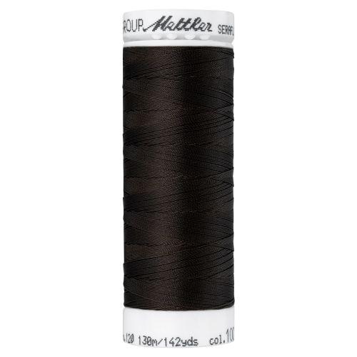Mettler Thread - Seraflex Stretch - 130m Reel - Very Dark Brown 1002