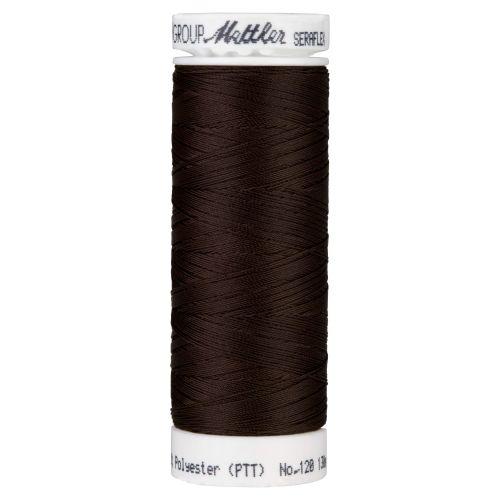Mettler Thread - Seraflex Stretch - 130m Reel - Chocolate 0428