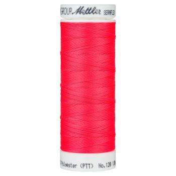 Mettler Thread - Seraflex Stretch - 130m Reel - Vivid Coral 8775