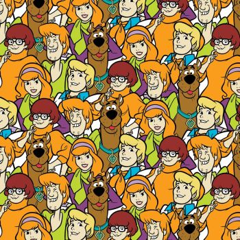 Hanna Barbera Fabric - Scooby Doo and the Gang - 100% Cotton - 1/4m+