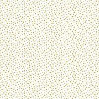Makower Fabric - Christmas Metallic Essentials - Stars - Gold - 100% Cotton - 1/4m+