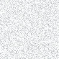 Makower Fabric - Christmas Metallic Essentials - Scrolls - Silver - 100% Cotton - 1/4m+