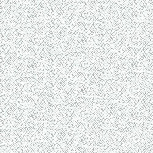 Makower Fabric - Christmas Metallic Essentials - Pin Dot - Silver - 100% Co
