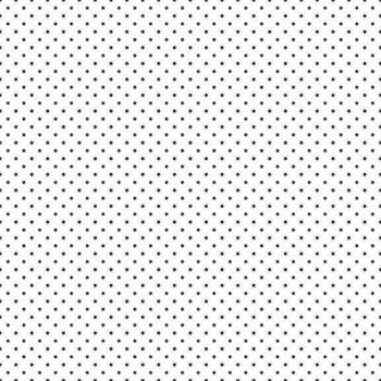 Nutex Fabric - Black and White Pin Dot - 100% Cotton - 1/4m+