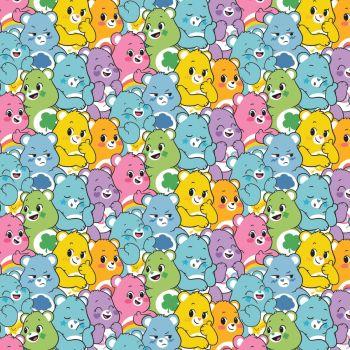 Care Bears Fabric - Care Bears Believe Believers - 100% Cotton - 1/4m+